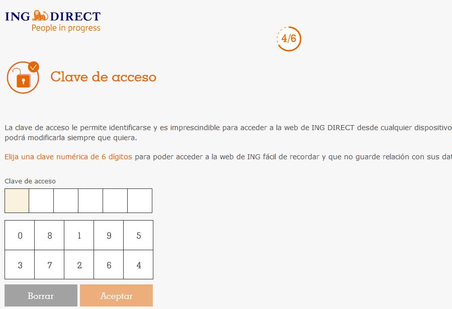 clave acceso banco sin comisiones