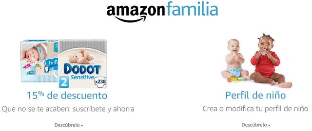 ofertas amazon familia