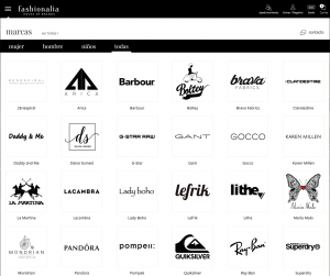 web ropa de marcas barata fashionalia