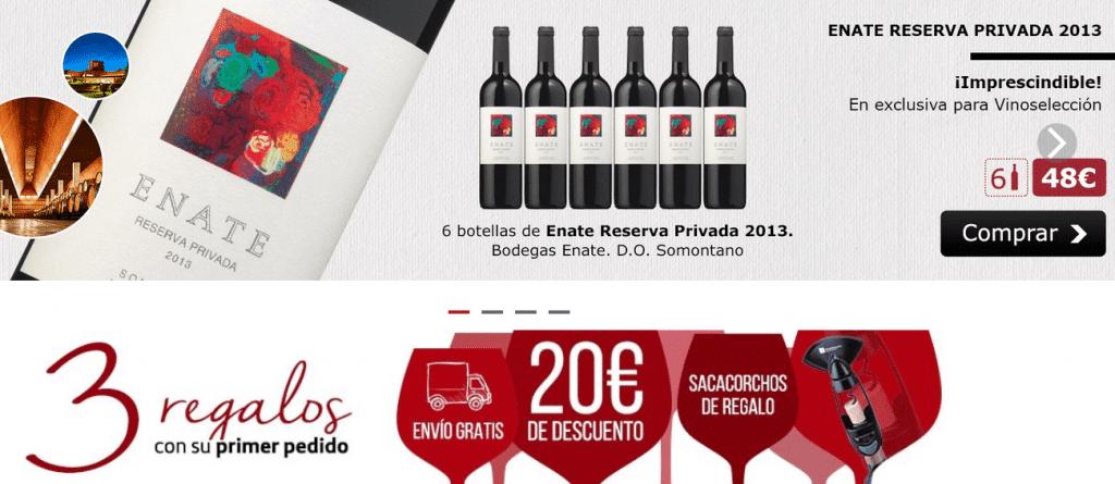 web comprar vino vinoselecction