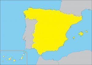 mapa España amarillo masmovil