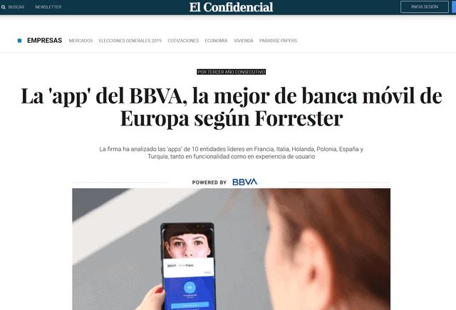banco online bbva y su aplicacion movil