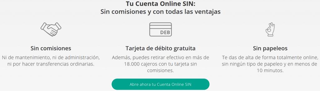 cuenta online sin comisiones Liberbank