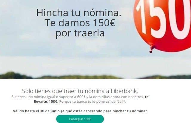 cuentas sin comisiones: Liberbank