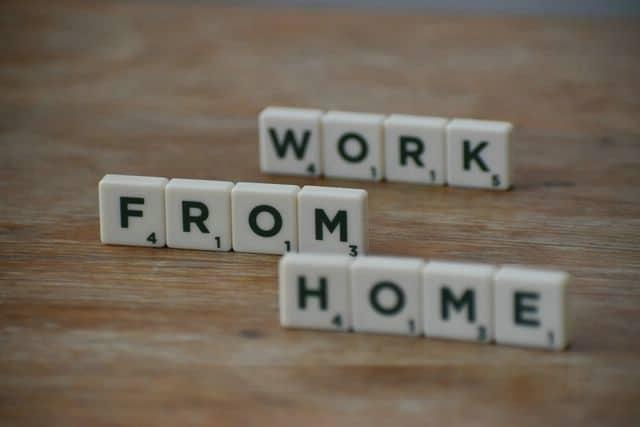 trabajos desde casa