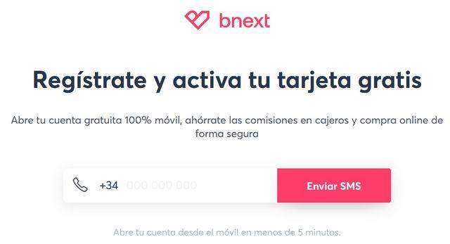 Abrir cuenta banco sin comisiones bnext ordenador