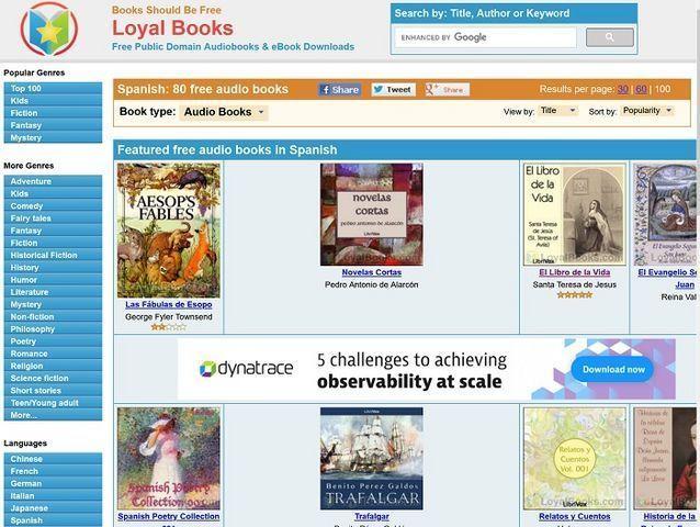 loyal books audiolibros gratis