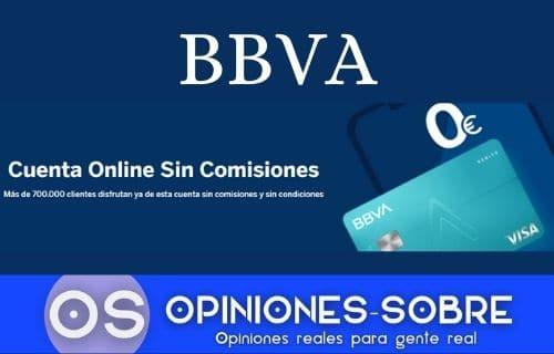 Cuenta online BBVA opiniones y sus principales características