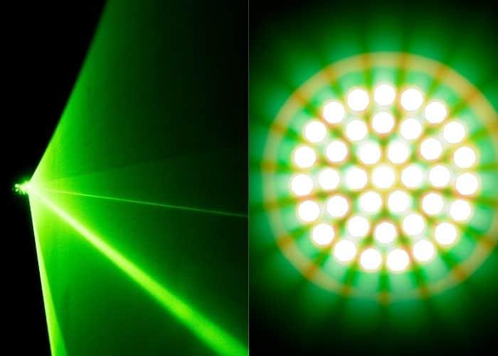 laser o led